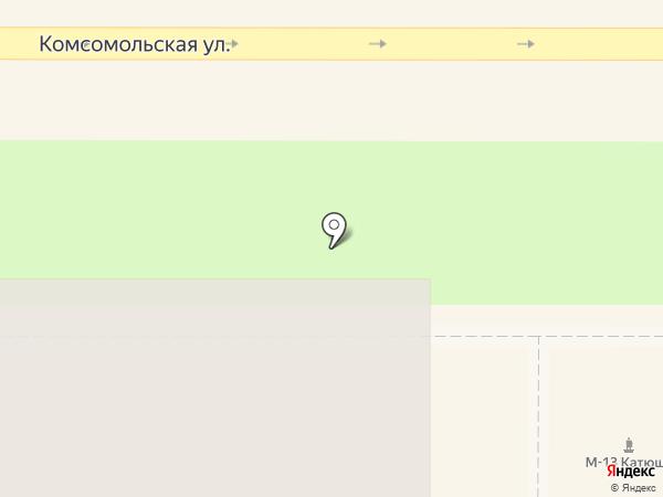 Сеть ортопедических салонов на карте Новомосковска