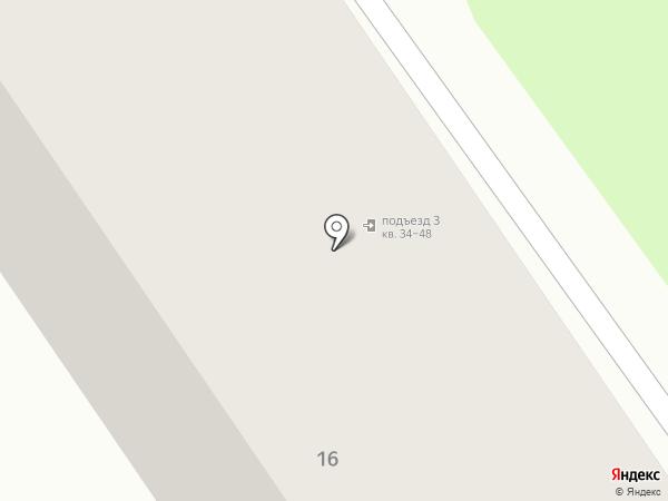 ЖЭУ №5 на карте Донского