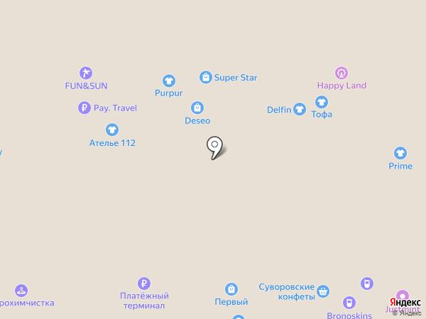 Мастер спорта на карте Новомосковска