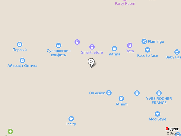 ТУТАНХАМОН на карте Новомосковска