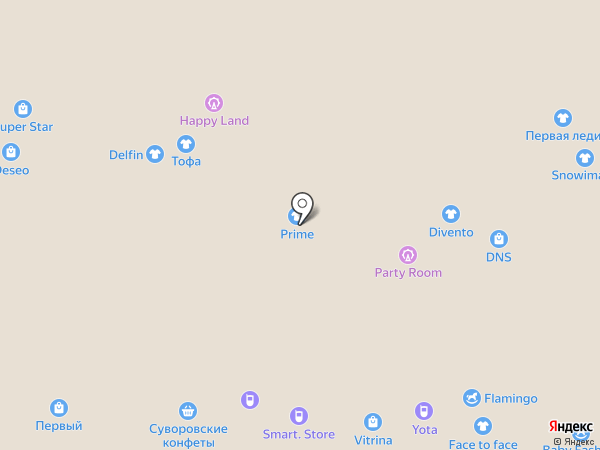 Smart. Store на карте Новомосковска