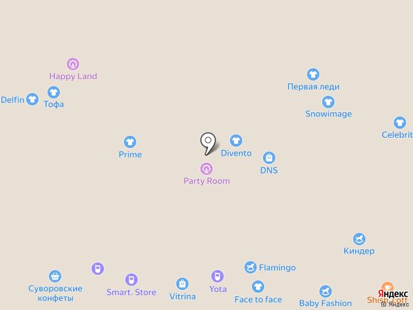 Магазин кожгалантереи на карте Новомосковска