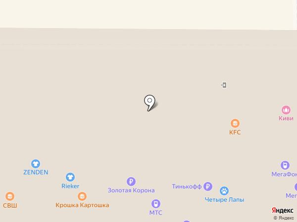 Крошка Картошка на карте Новомосковска