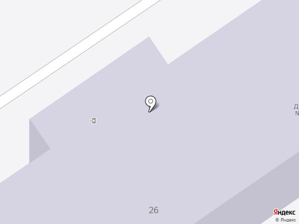 Детский сад №3 на карте Донского