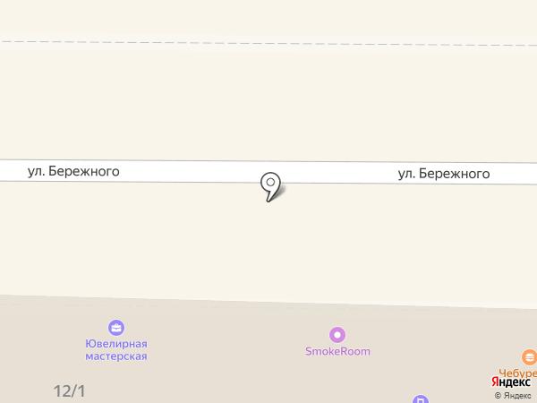 Пёрышко на карте Новомосковска
