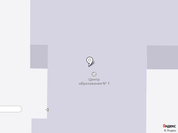 Начальная общеобразовательная школа №7 на карте Новомосковска