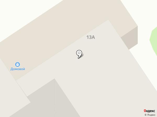 Домовой на карте Донского