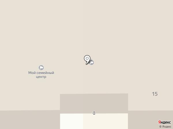 Тульский областной социально-реабилитационный центр для несовершеннолетних №3 на карте Новомосковска