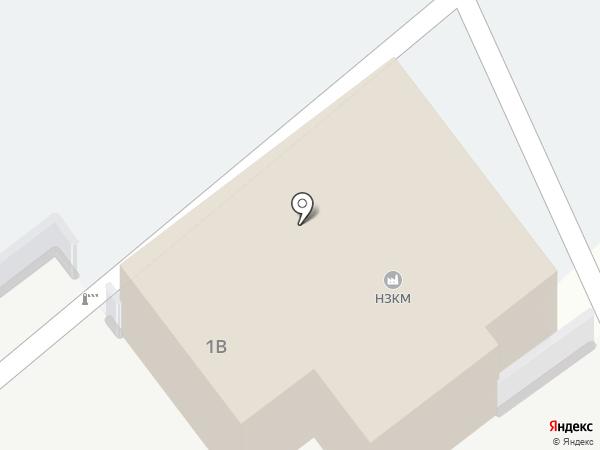НЗКМ на карте Новомосковска