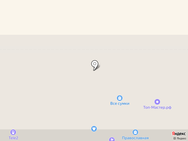 Tele2 на карте Новомосковска