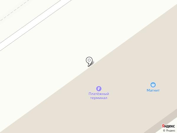 Аист на карте Ахтырского