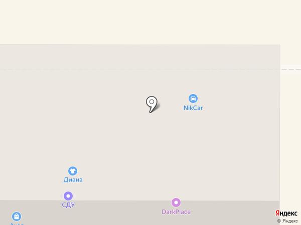 ИРЭН на карте Новомосковска