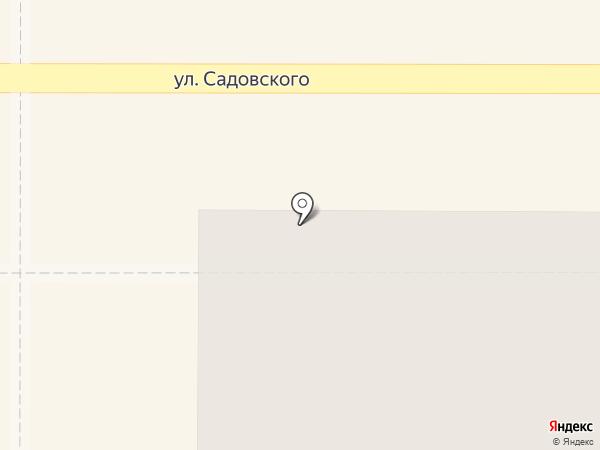 Торнадо на карте Новомосковска