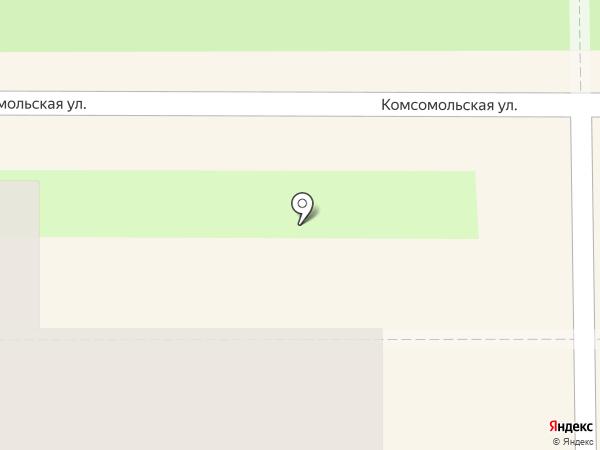 Фруктович на карте Новомосковска