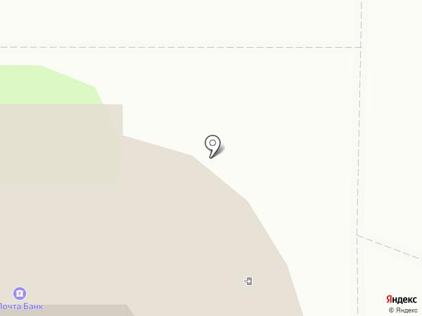 Банкомат, Почта Банк, ПАО на карте Новомосковска