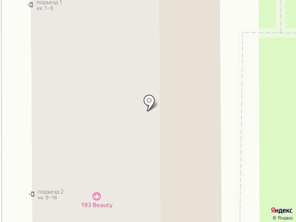 Марлен на карте Новомосковска