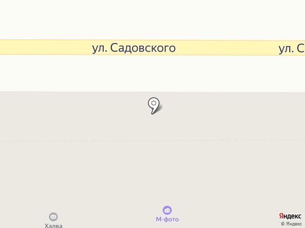 Соляная пещера на карте Новомосковска
