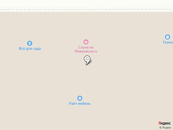 Доступные двери на карте Новомосковска