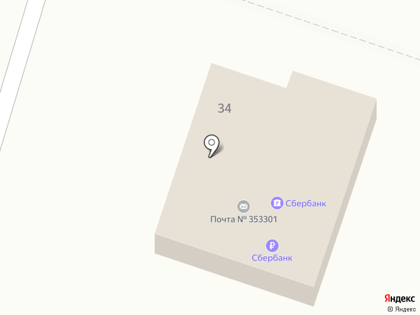 Банкомат, Сбербанк, ПАО на карте Ахтырского