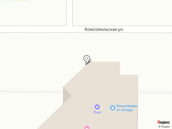 PIXEL на карте Новомосковска