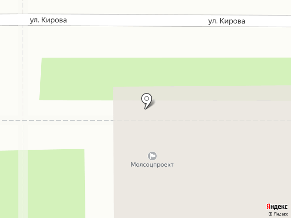 Человек и Закон на карте Новомосковска