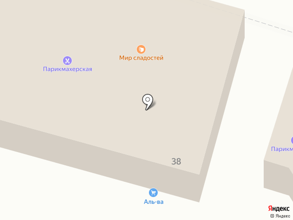 Агрокомплекс на карте Ахтырского
