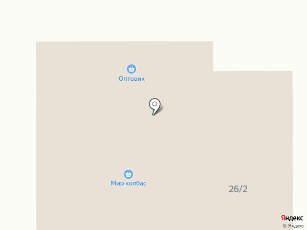 Мир колбас на карте Новомосковска