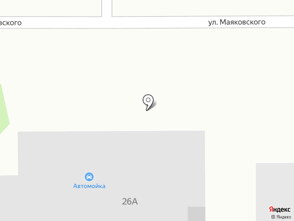 Шиномонтажная мастерская на карте Новомосковска
