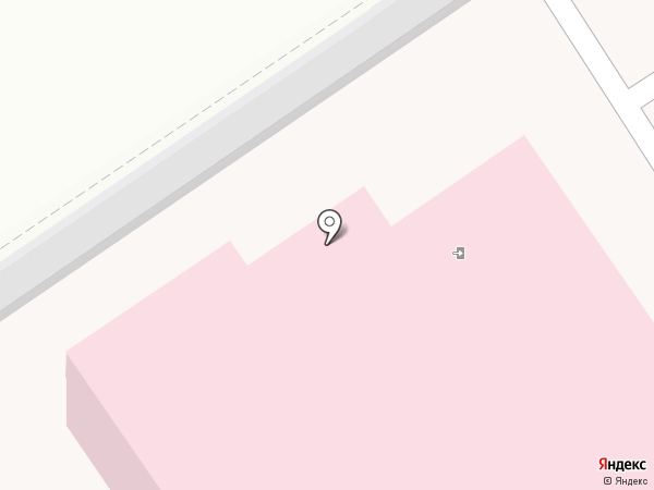Новомосковская городская клиническая больница на карте Новомосковска