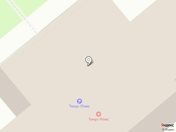 Санаторий-профилакторий на карте Новомосковска