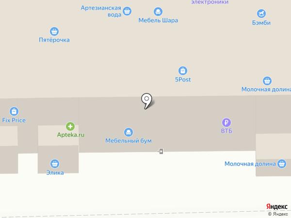 Бэмби на карте Донского