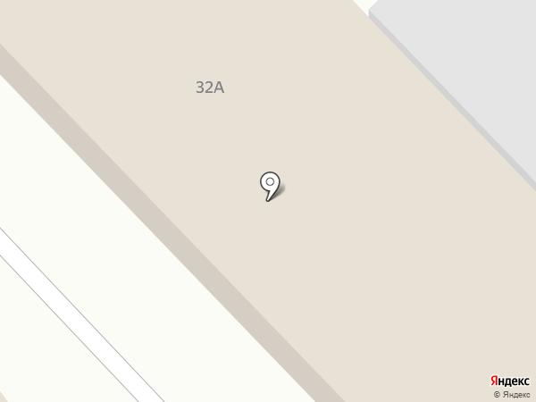 Автопроект на карте Новомосковска