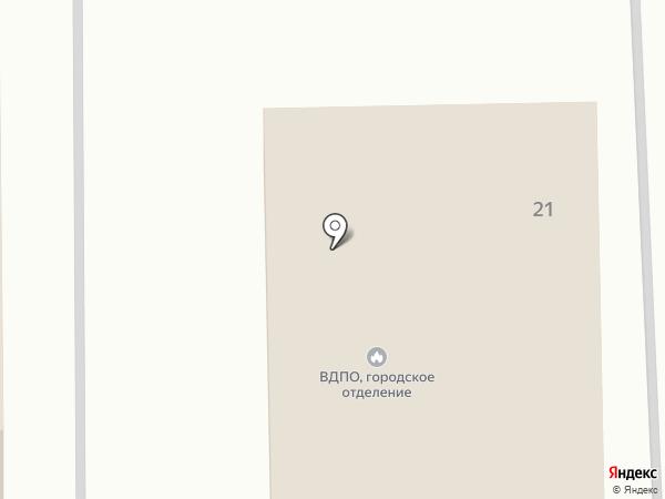 Всероссийское добровольное пожарное общество на карте Донского