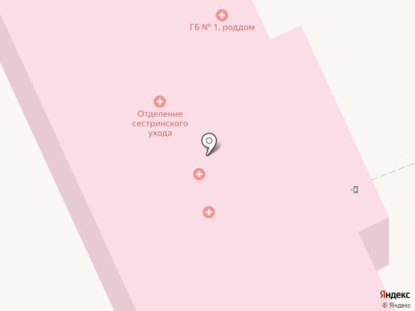 Родильный дом на карте Донского