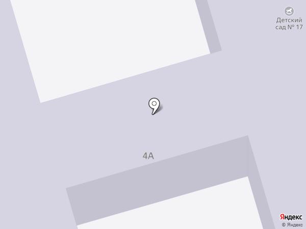 Детский сад №17 на карте Новомосковска