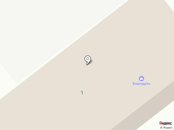 Доуль на карте Донского