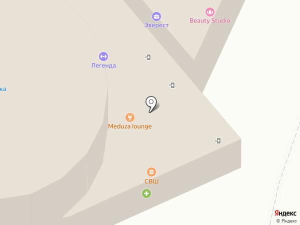 AirStudio на карте Новомосковска