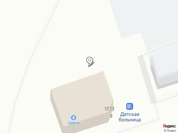 Магазин цветов на Рязанском шоссе на карте Новомосковска