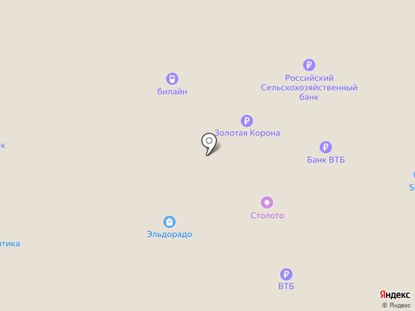 SPAR на карте Новомосковска