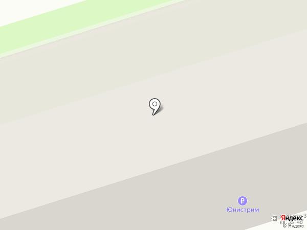 Новомосковск-16 на карте Новомосковска
