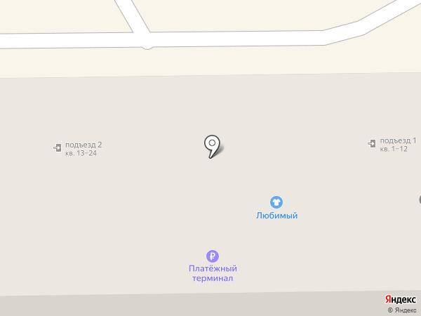 География на карте Донского