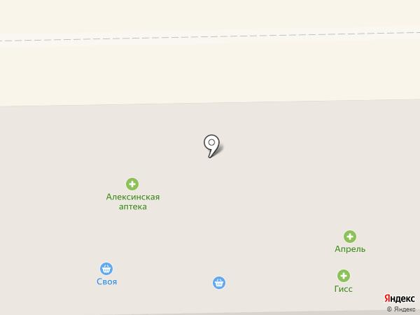 Сытный на карте Донского