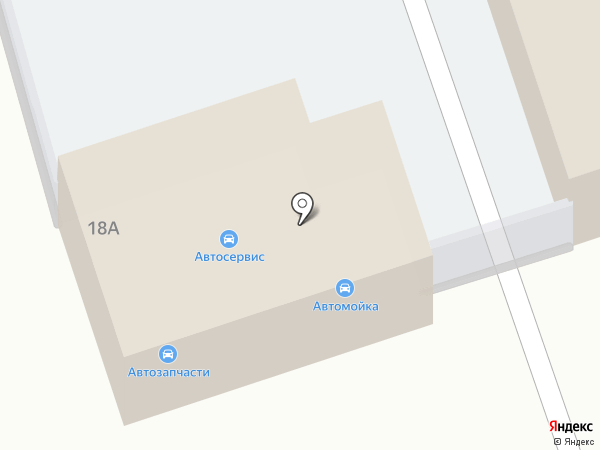 Автосервис на карте Новомосковска