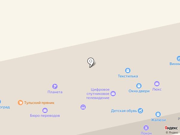 Локон на карте Донского