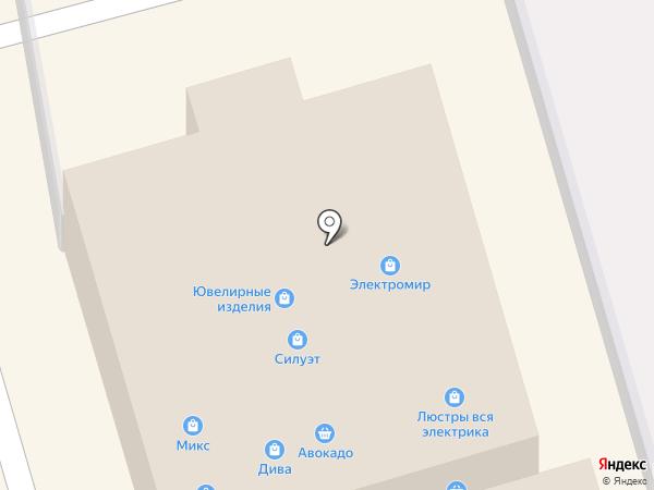 Магазин постельного белья на Октябрьской на карте Донского