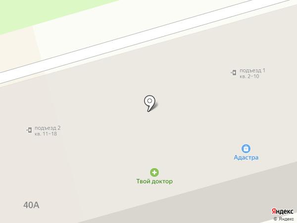 Правильный Цыплёнок на карте Донского