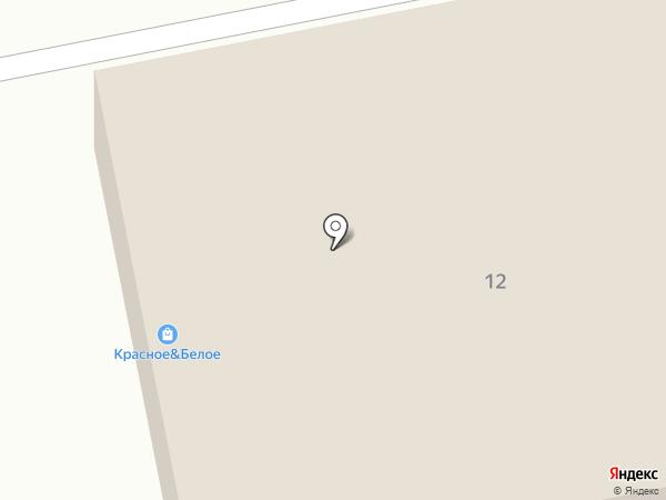Магазин мяса на ул. Терпигорева на карте Донского