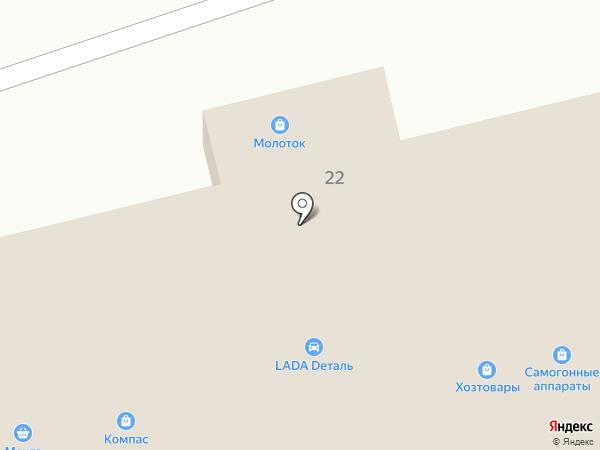 Компас на карте Донского