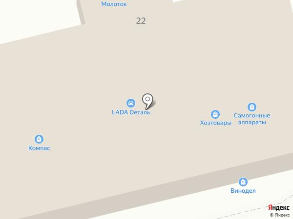 EuroLine на карте Донского