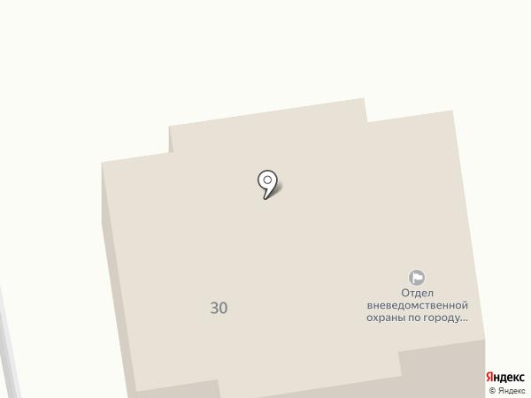 Отдел вневедомственной охраны по г. Донской, Управление вневедомственной охраны на карте Донского